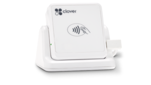 Clover Go from First Data and American Merchant Brokers - Clover Go is a card reader for mobile devices.