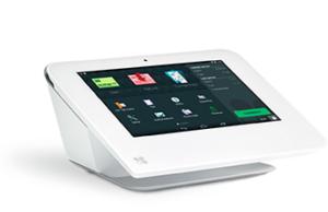 Clover Mini and Clover Mini Station POS from American Merchant Brokers and First Data.