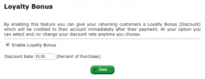 eCommerce High Risk and Kratom Loyalty Program. Reward returning customers with a discount on their purchases for kratom, Nutra, Hemp, Computer repair etc.